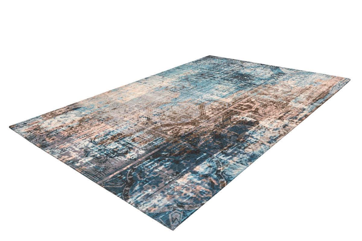Tapis APACHE Bleu / Marron 200cm x 290cm2