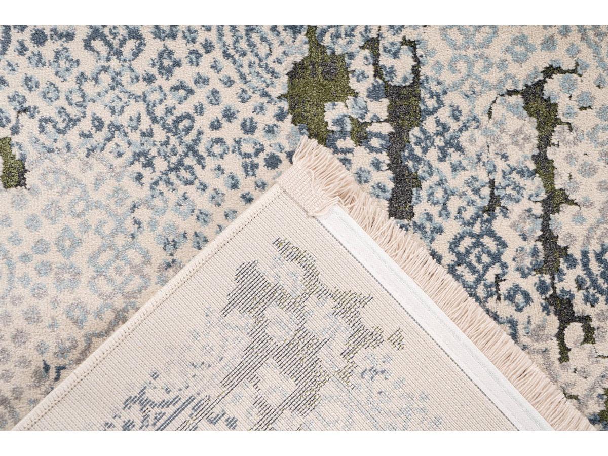 Tapis TENZO Gris /Vert 160cm x 230cm5