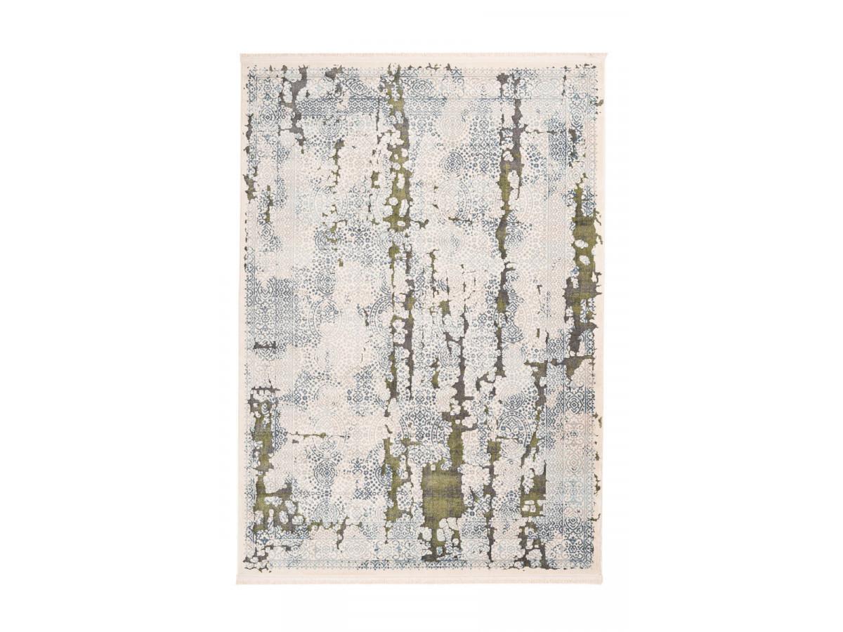 Tapis TENZO Gris /Vert 80cm x 150cm3