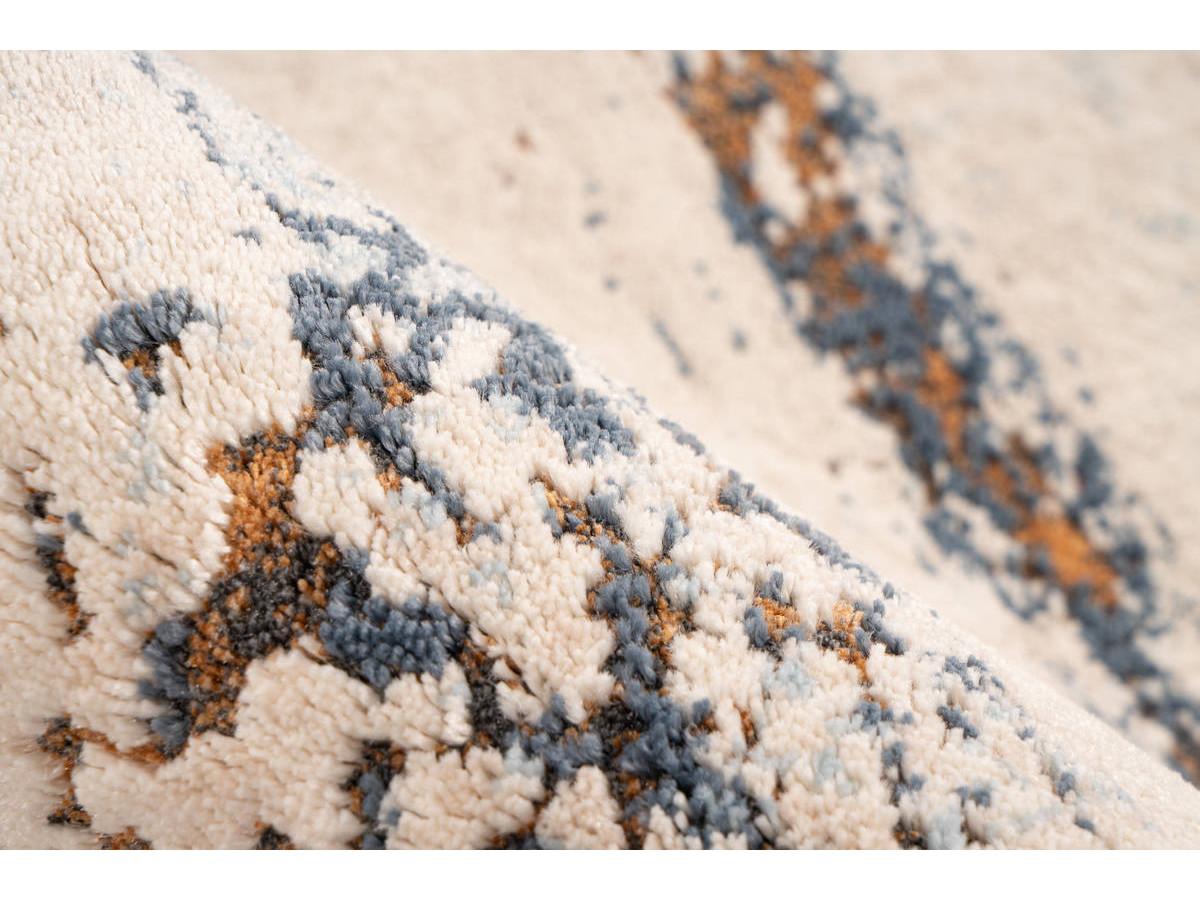 Tapis TENZO Gris / RostRouge 160cm x 230cm4