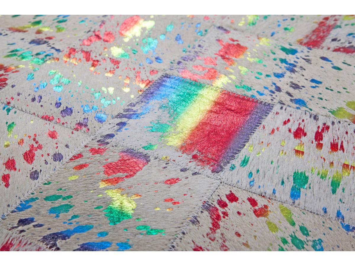 Tapis KIMI Ivoire / Multicolor 80cm x 150cm4