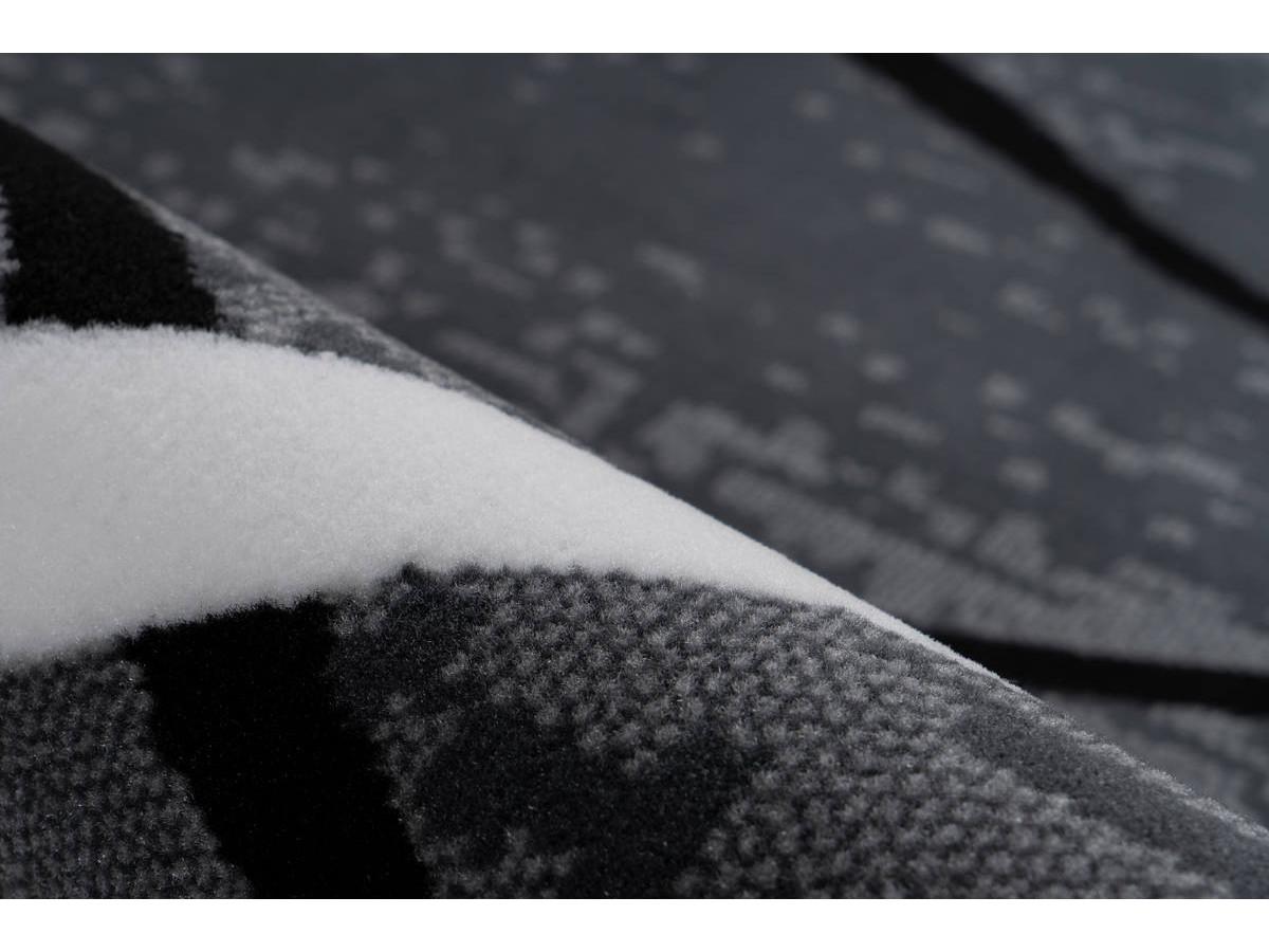 Tapis KRISTA Anthracite / Noir / Blanc 120cm x 170cm4