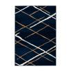 Tapis KRISTA Bleu / Beige / Blanc 160cm x 230cm3