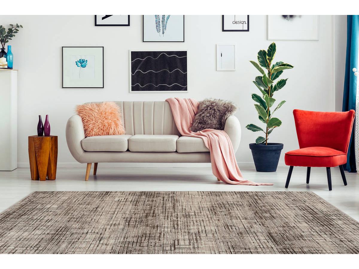 Tapis KRISTA Multicolor / Crème 160cm x 230cm1