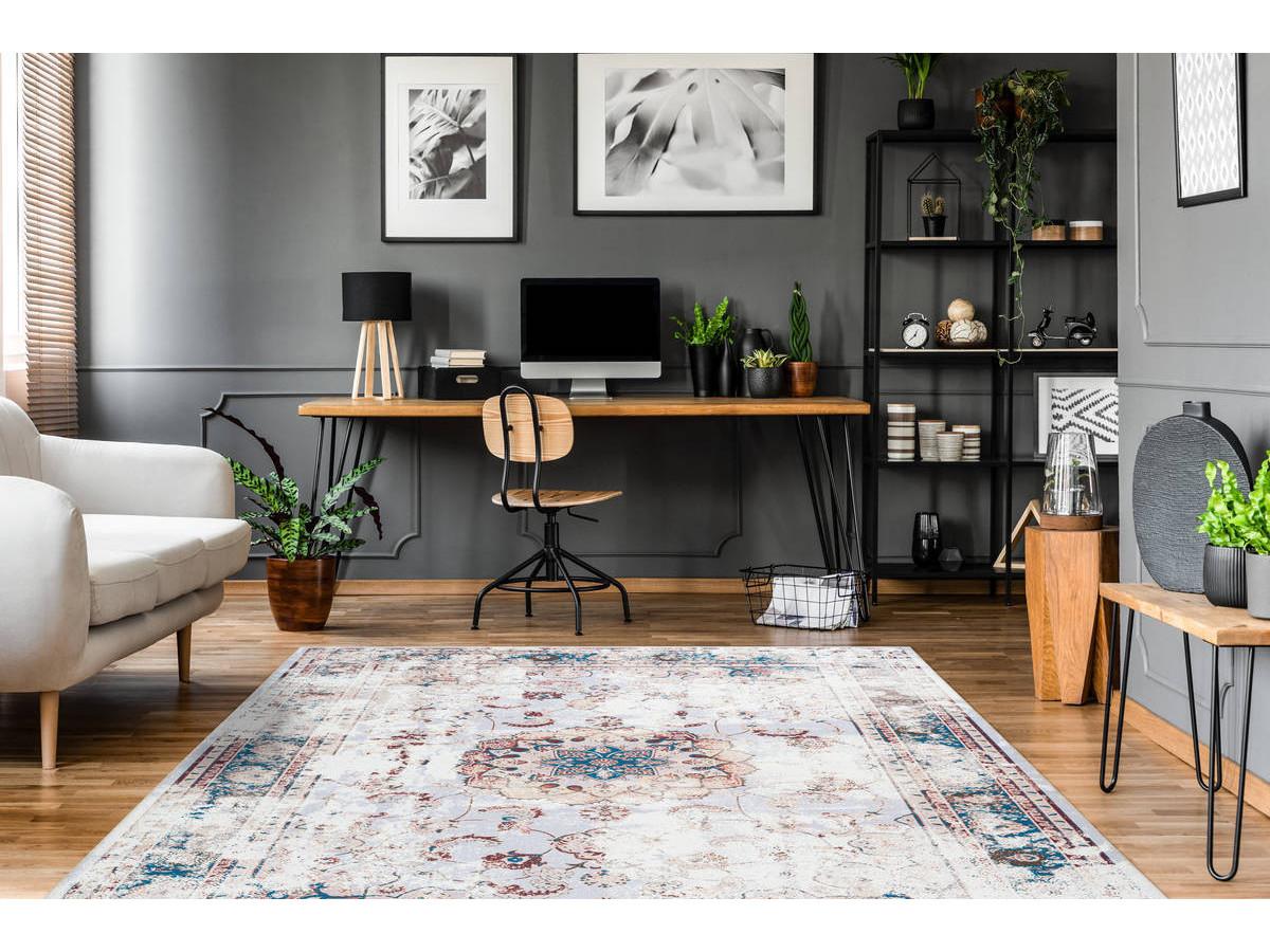 Tapis IDELIA Multicolor / Marron 170cm x 240cmx1