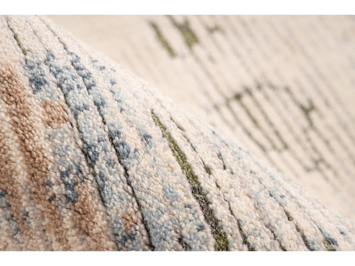 Tapis TENZO Multicolor /Vert 80cm x 150cmx4