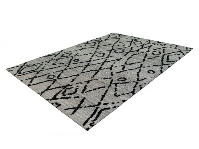 Tapis KADIX Gris / Noir 80cm x 150cmx