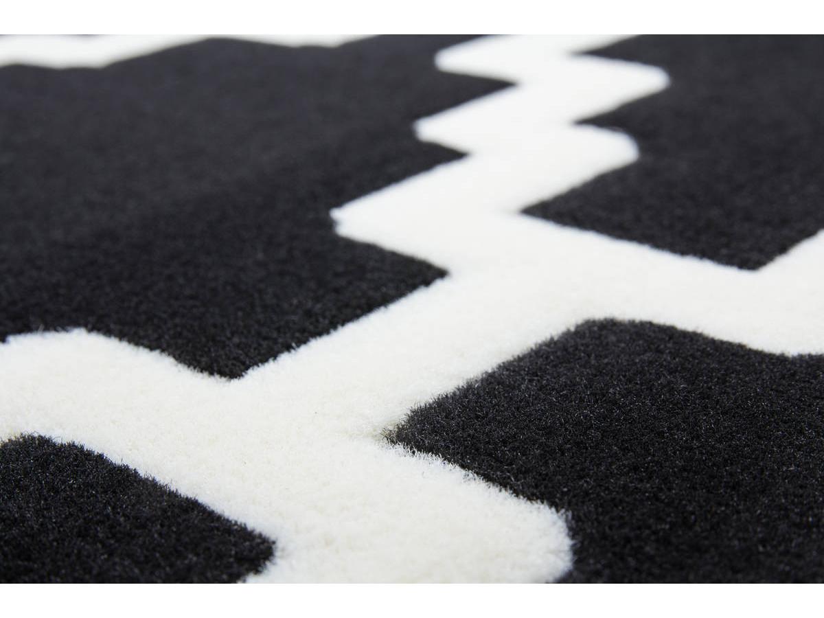 Tapis IRMA Noir / Ivoire 200cm x 290cm