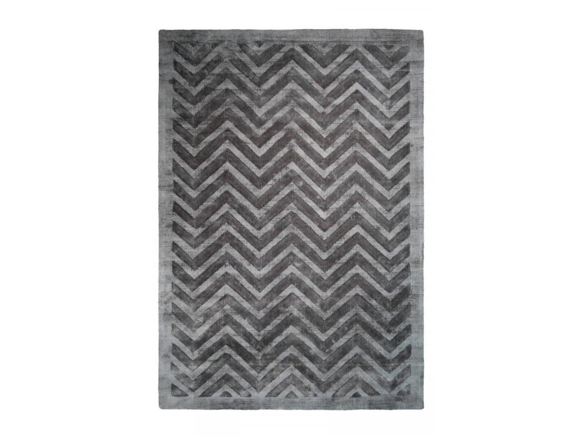 Tapis VENITTO Gris / Anthracite 80cm x 150cm