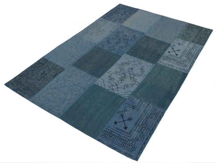 Tapis MISSO Multicolor / Bleu 120cm x 170cm