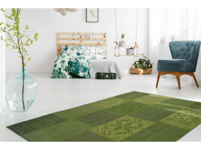 Tapis MISSO Multicolore/Vert 120cm x 170cm