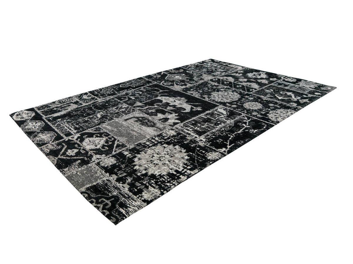 Tapis KADIX Gris / Noir 200cm x 280cm