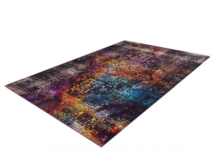 Tapis IDELIA Multicolor / Marron 80cm x 150cm