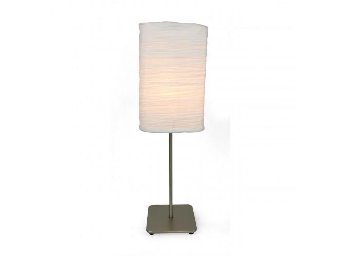 Lampe abat jour papier Belgrave Gris
