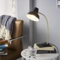 Lampe en métal Sway Noir