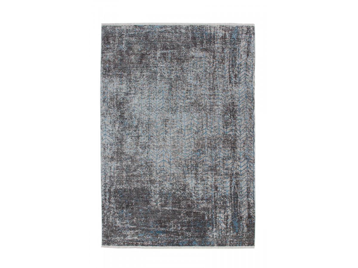 Tapis FONZY Gris / Bleu 160cm x 230cm