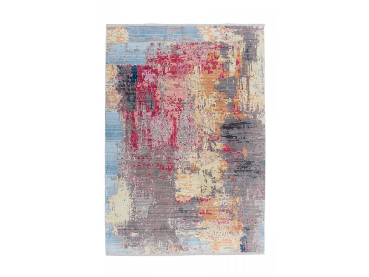 Tapis FONZY Multicolor / Bleu / Rouge / Jaune 200cm x 290cm