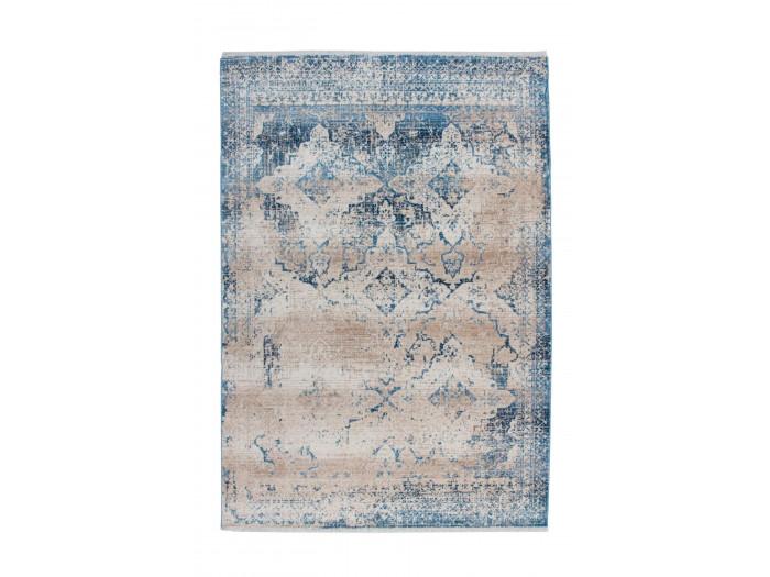 Tapis FONZY Crème / Bleu 160cm x 230cm
