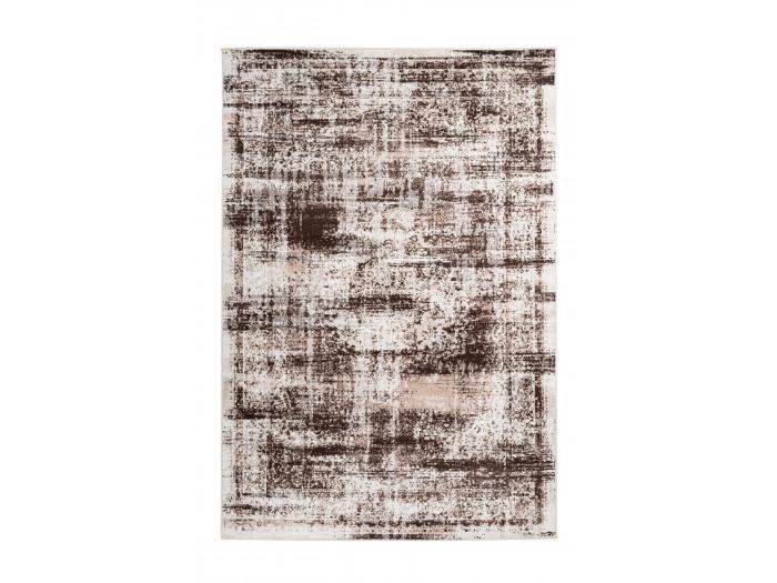 Tapis MERTHA Crème / Marron 120cm x 180cm