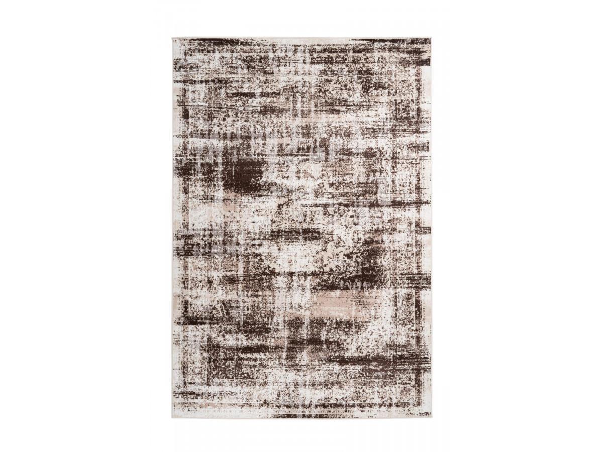 Tapis MERTHA Crème / Marron 160cm x 230cm