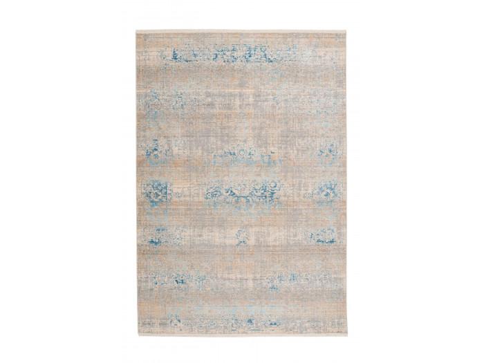 Tapis FAKIR Gris / Turquoise 80cm x 150cm