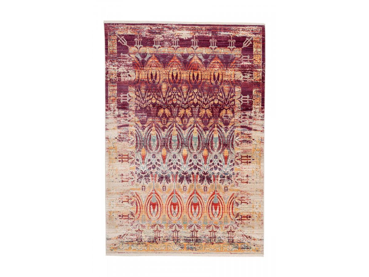 Tapis FAKIR Multicolor / Rouge / Jaune 80cm x 150cm