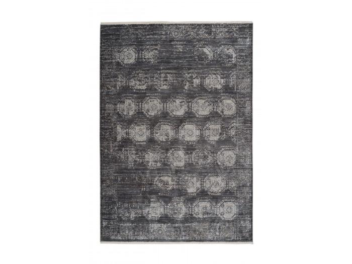 Tapis poils courts FAKIR motif vintage