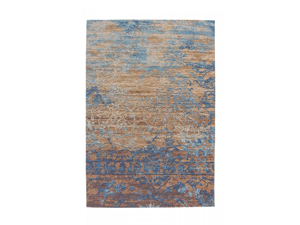 Tapis SALOMA Bleu / Beige 155cm x 230cm