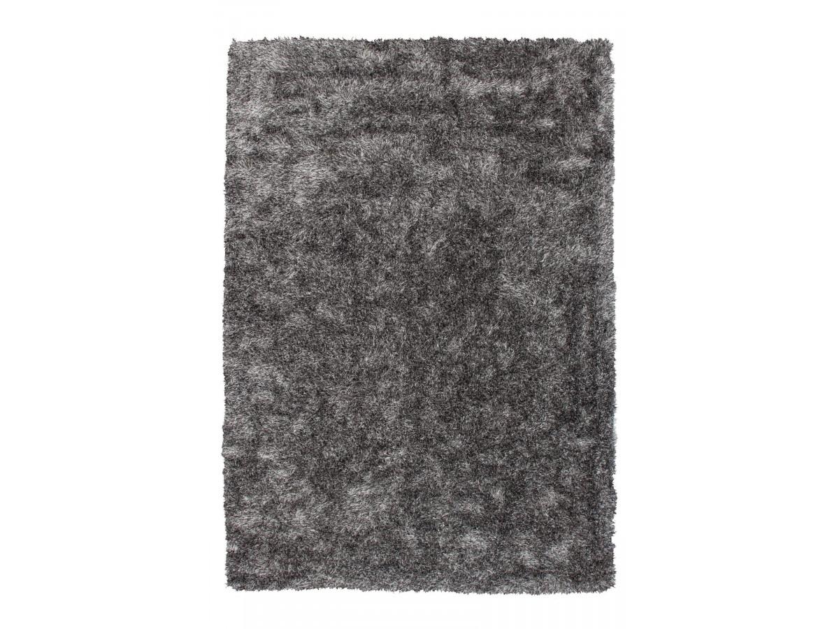 Tapis MIRENA Gris / Blanc 120cm x 170cm