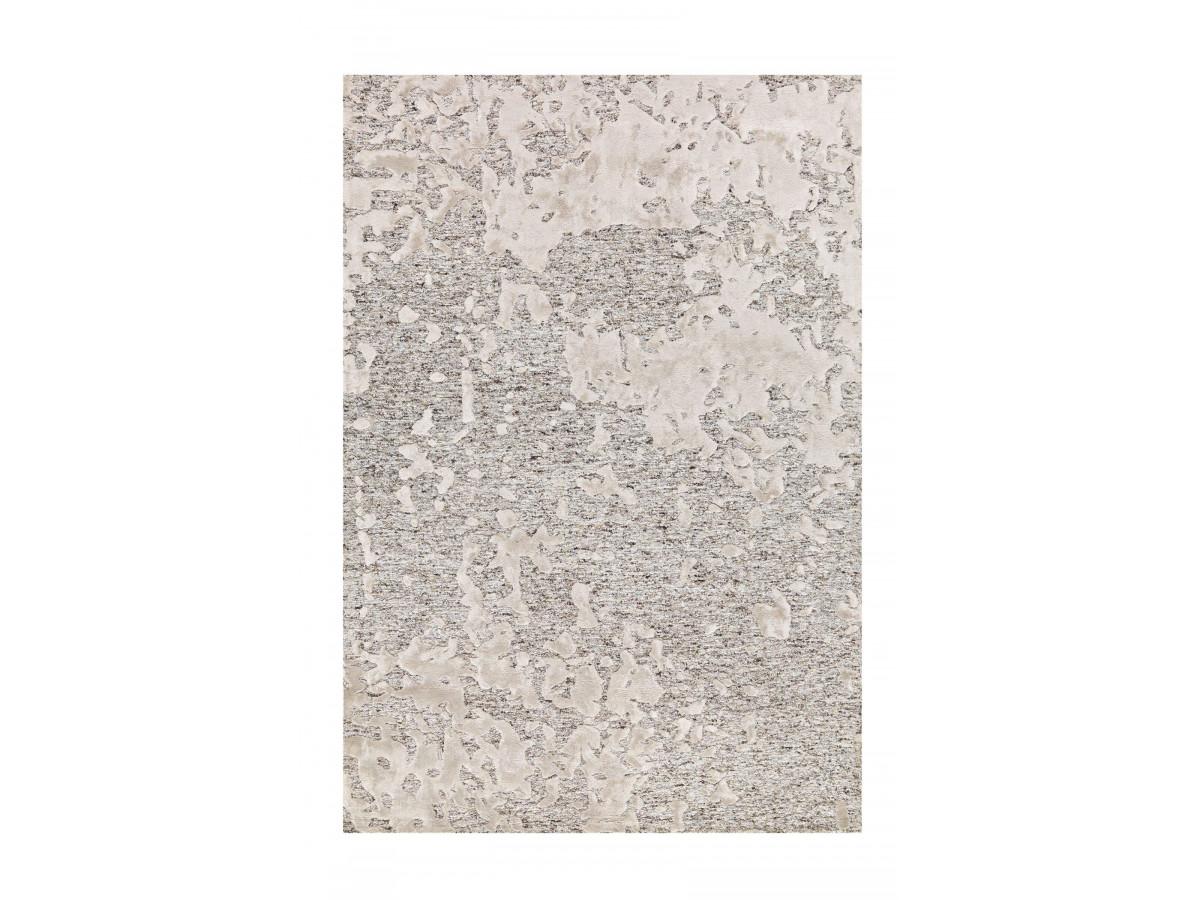 Tapis SHABBY Gris / Natural 80cm x 150cm