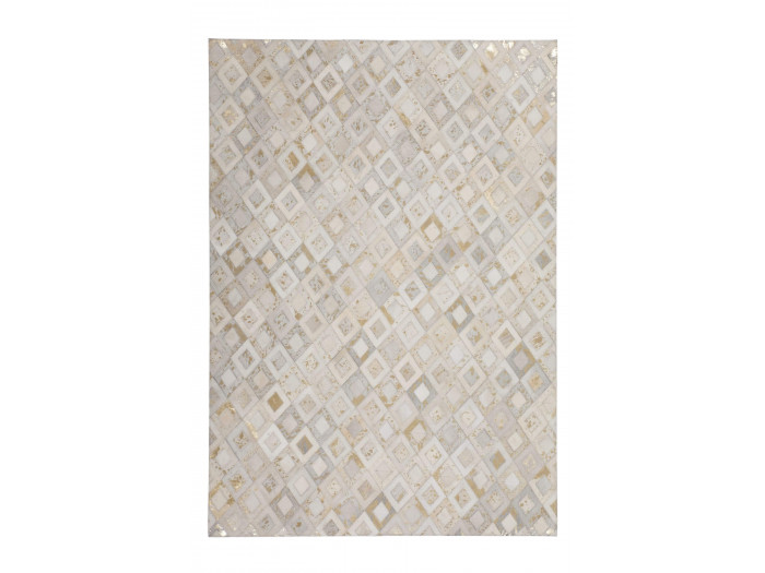 Tapis KHALED Ivoire / Or 80cm x 150cm