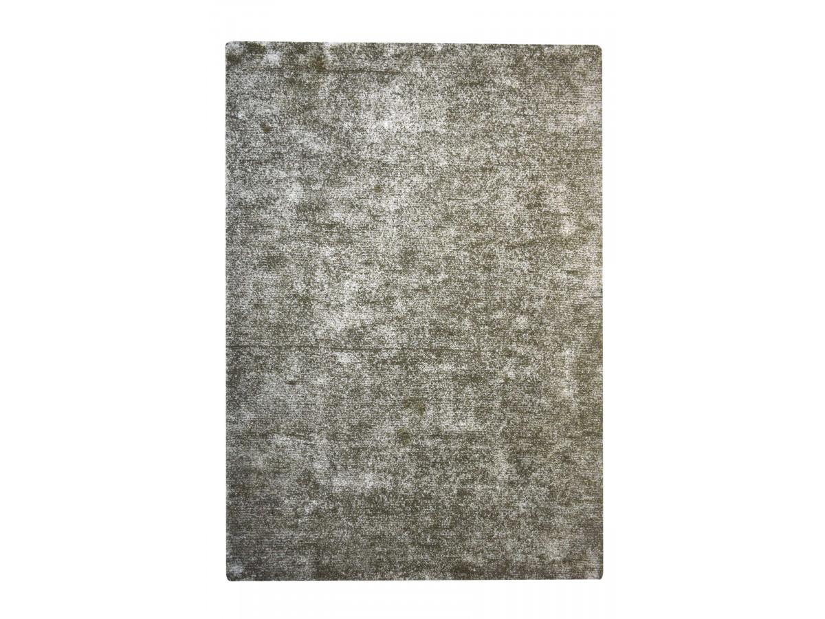 Tapis NEXT Argent / Vert olive 80cm x 150cm