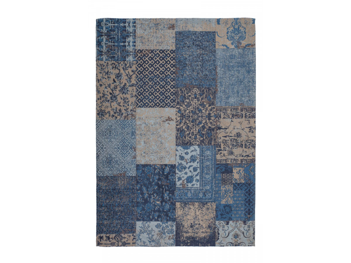 Tapis RIVKA Bleu 80cm x 150cm
