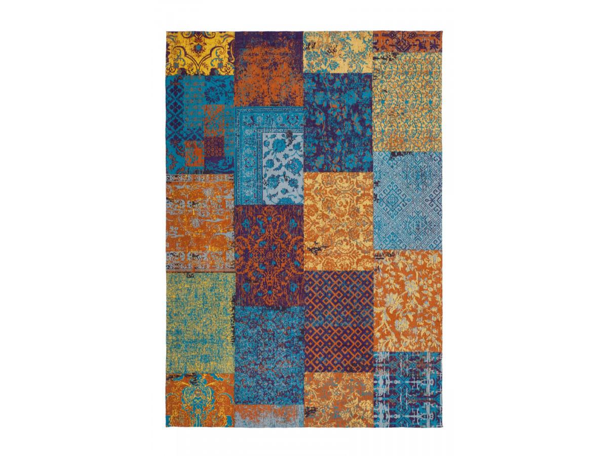 Tapis RIVKA Multicolor / Bleu / Jaune 200cm x 290cm