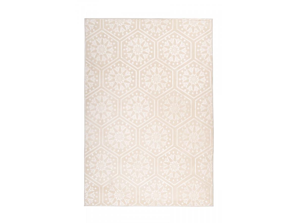 Tapis FLORETTA Crème 200cm x 290cm