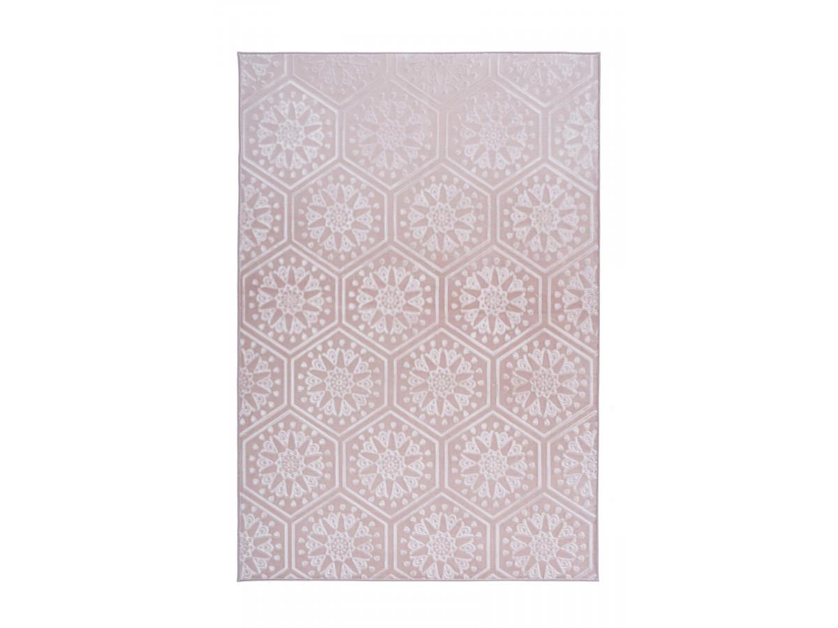 Tapis FLORETTA Rose 160cm x 230cm
