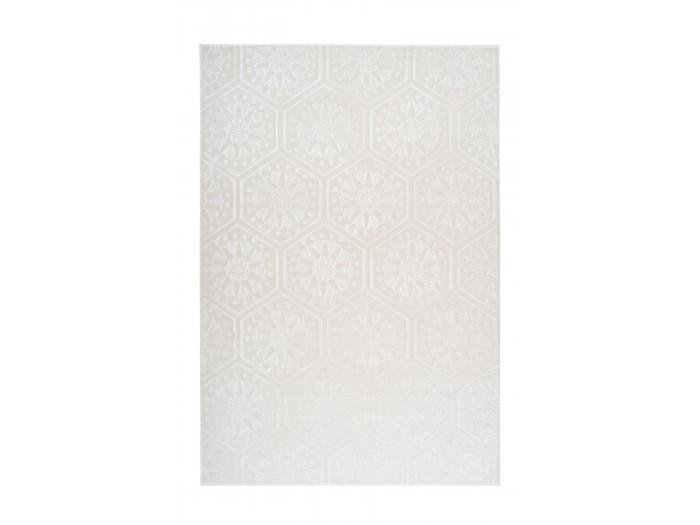 Tapis FLORETTA Blanc 160cm x 230cm