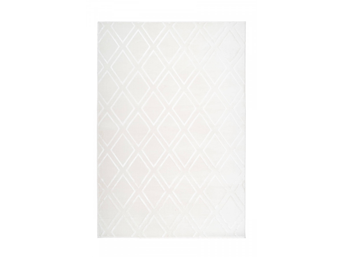 Tapis RIMINI Blanc 80cm x 150cm