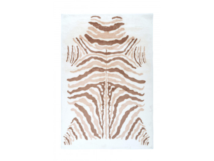 Tapis ZORI Ivoire / Taupe / Blanc 160cm x 230cm