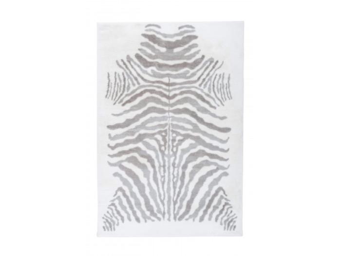 Tapis ZORI Gris / Blanc 160cm x 230cm