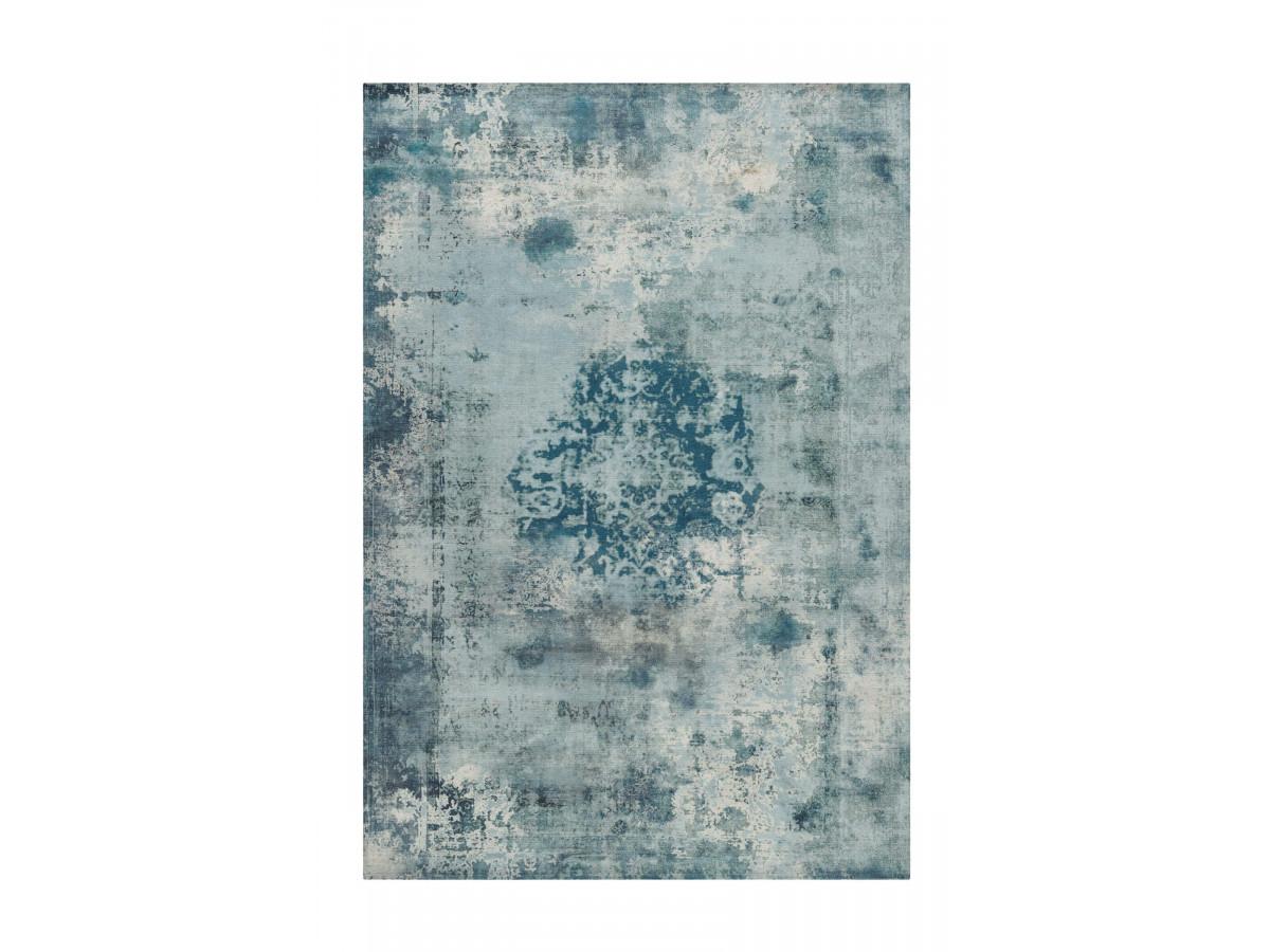 Tapis YAEL Bleu pétrole 200cm x 290cm