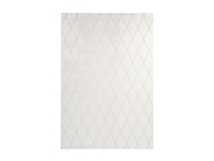 Tapis BETA Blanc / Crème 80cm x 150cm