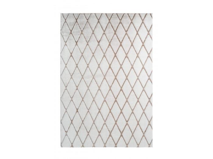 Tapis BETA Blanc / Blanc cassé 80cm x 150cm