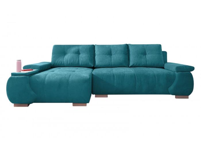 Canapé d'angle convertible coffre AMORE