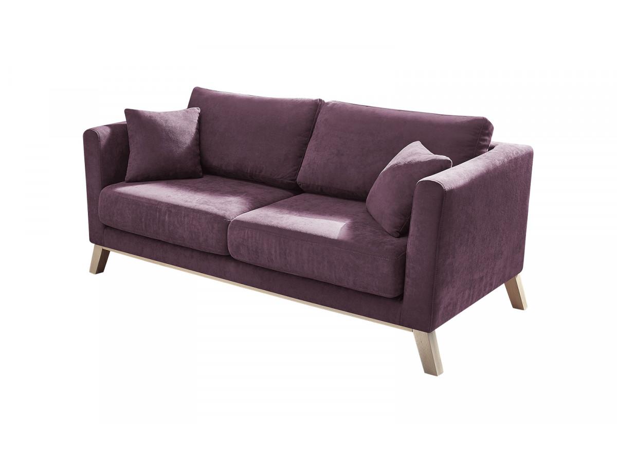 Canapé droit tissu DOBLO