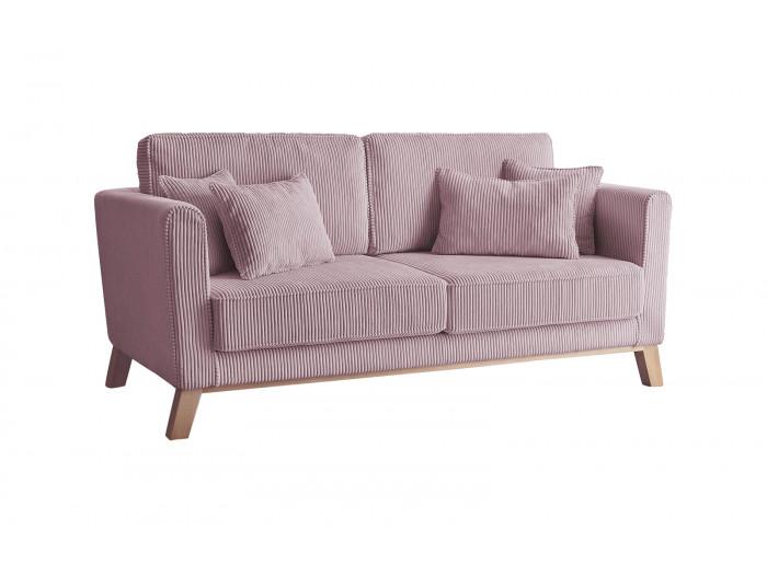 Canapé droit velours côtelé DOBLO