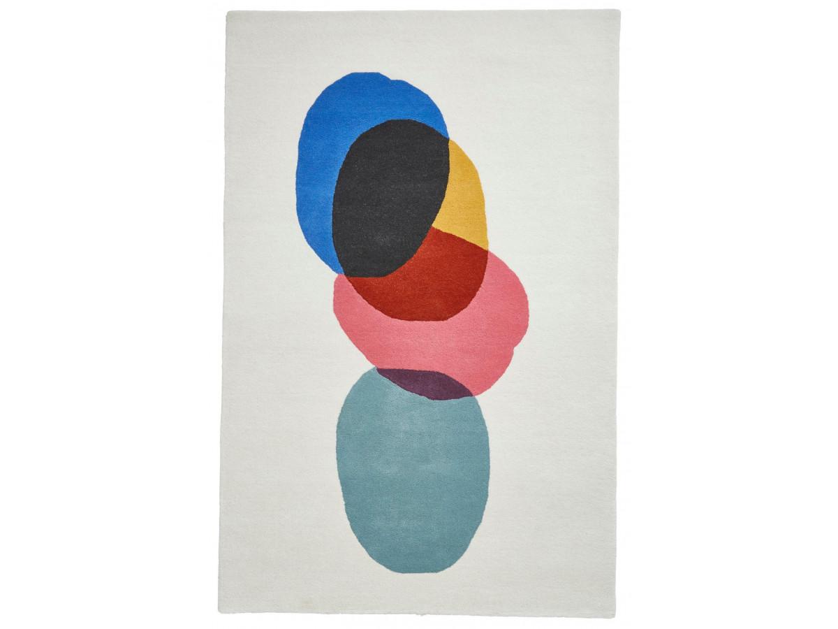 Tapis PERIG Multicolor / Bleu 120 x 170