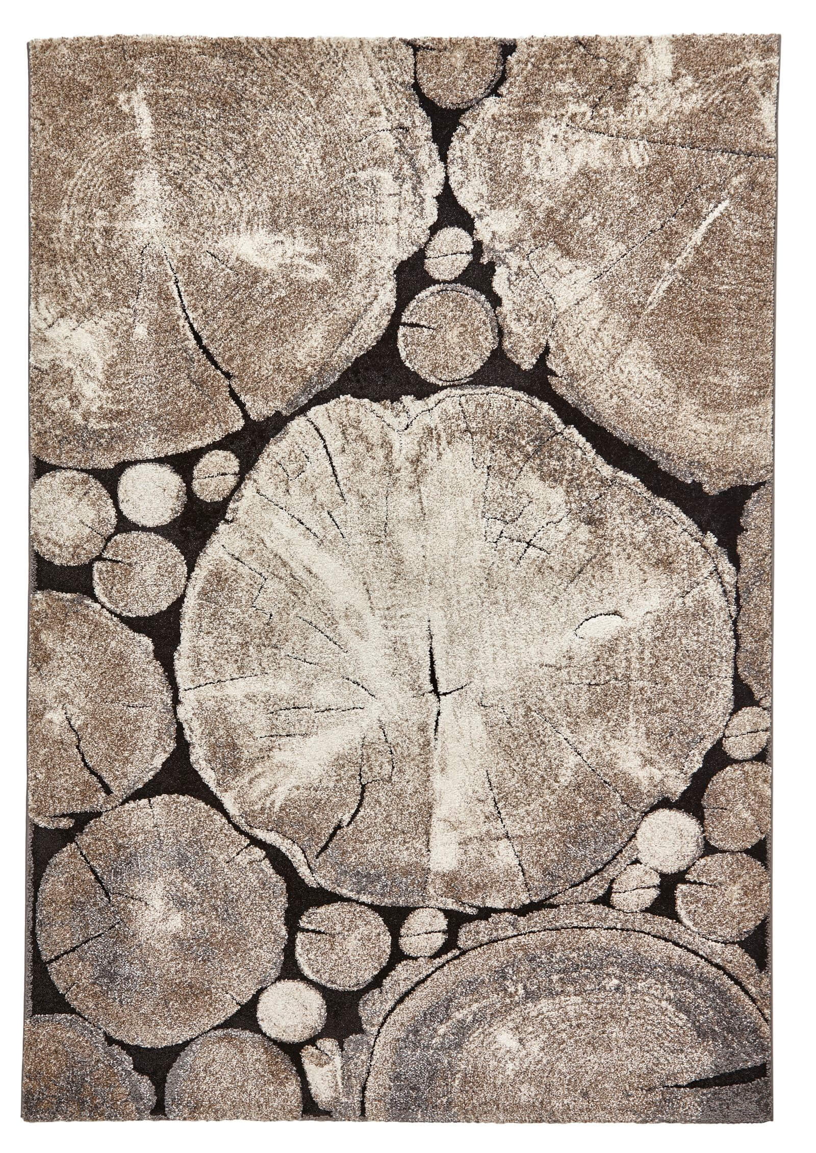 Tapis PLATO Beige / Noir 160 x 230