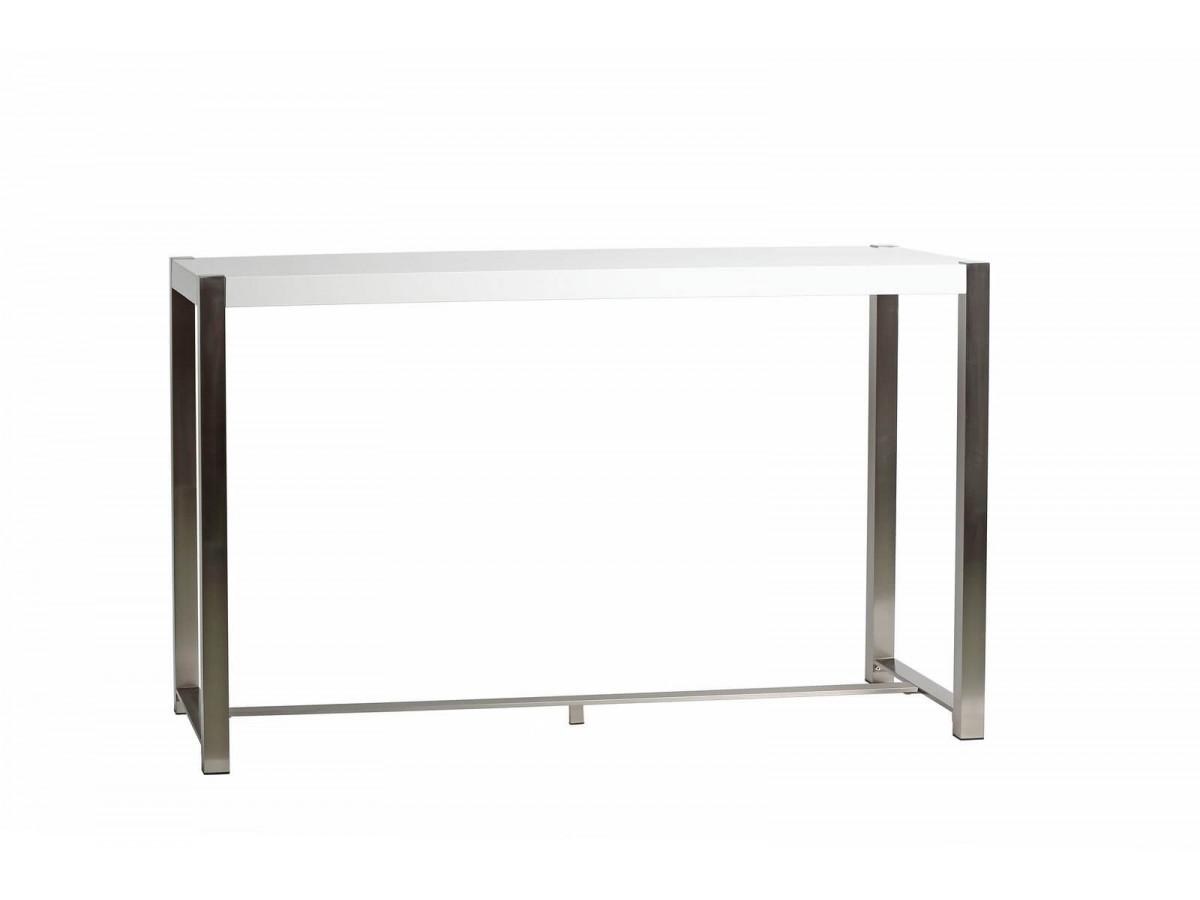 Table de bar MIRKA BLANC 160 x 60