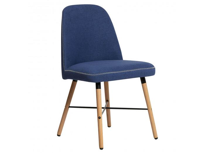 Ensemble de 2 chaises MITIO Bleu